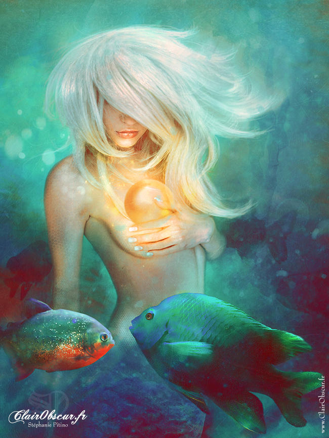 The Mermaid by clair0bscur