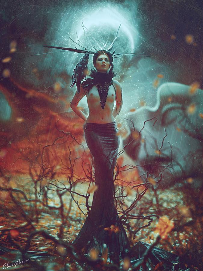 Dark Messenger by clair0bscur
