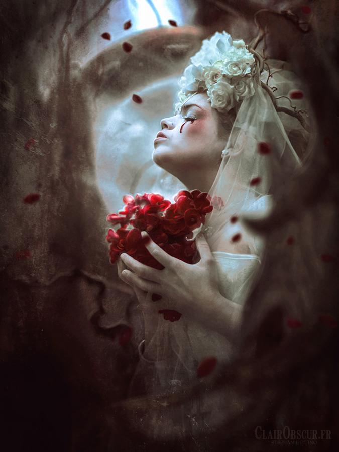 Bleeding Heart by clair0bscur