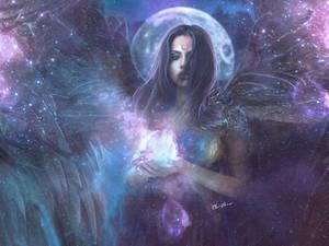 Sacred Feminine by clair0bscur
