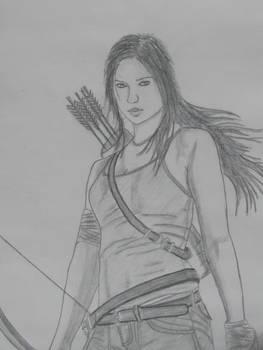 Lara Croft/Katniss
