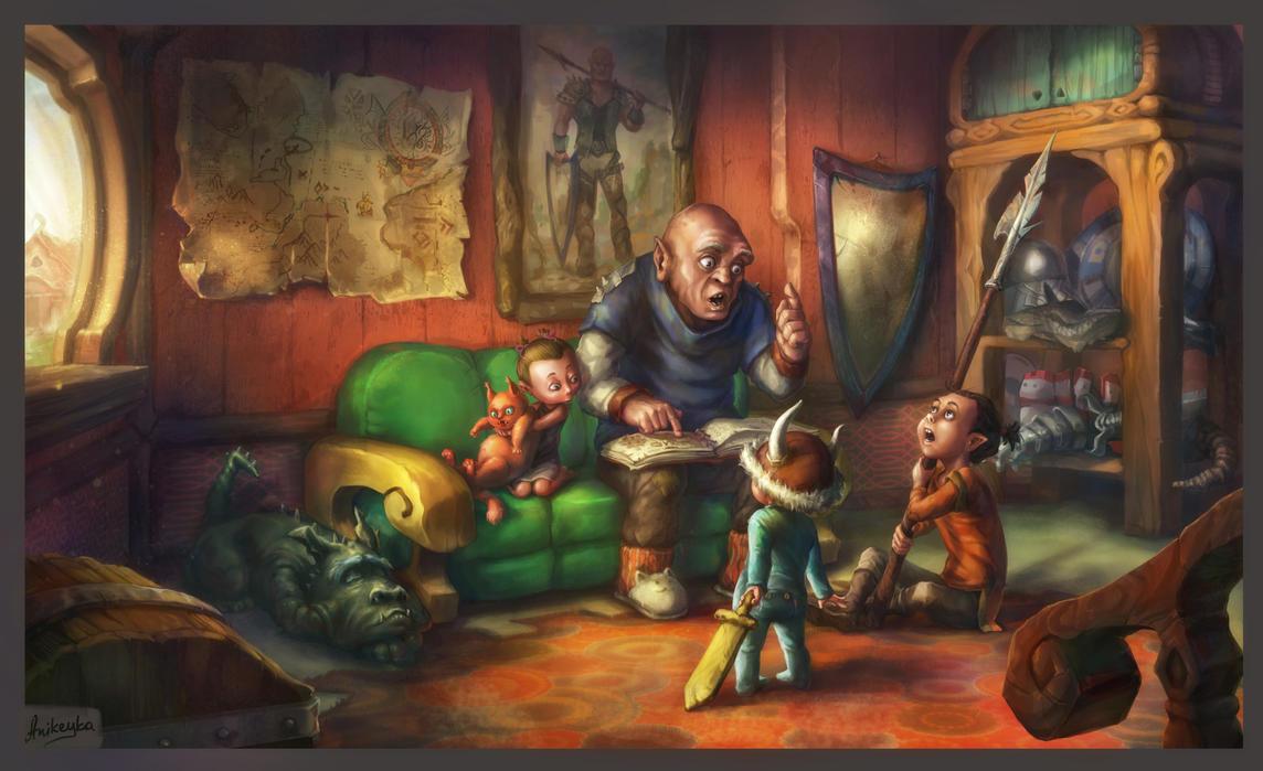 Ork's fairytales by Anikeyka