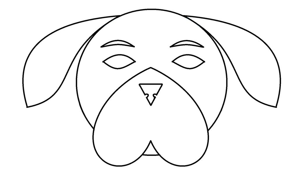 Dog Face Base by kasanelover