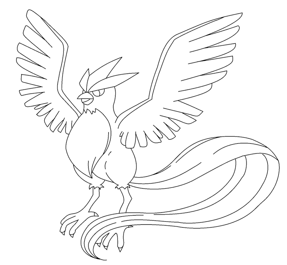 zapdos coloring pages - photo #27