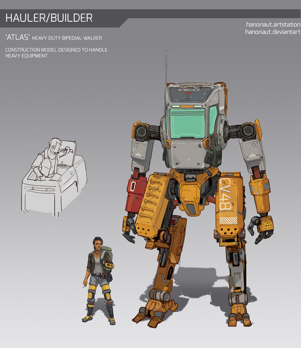 ATLAS Construction Mech by Hanonaut