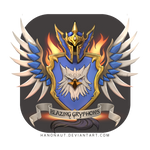 (Commission) Order of the Blazing Gryphons
