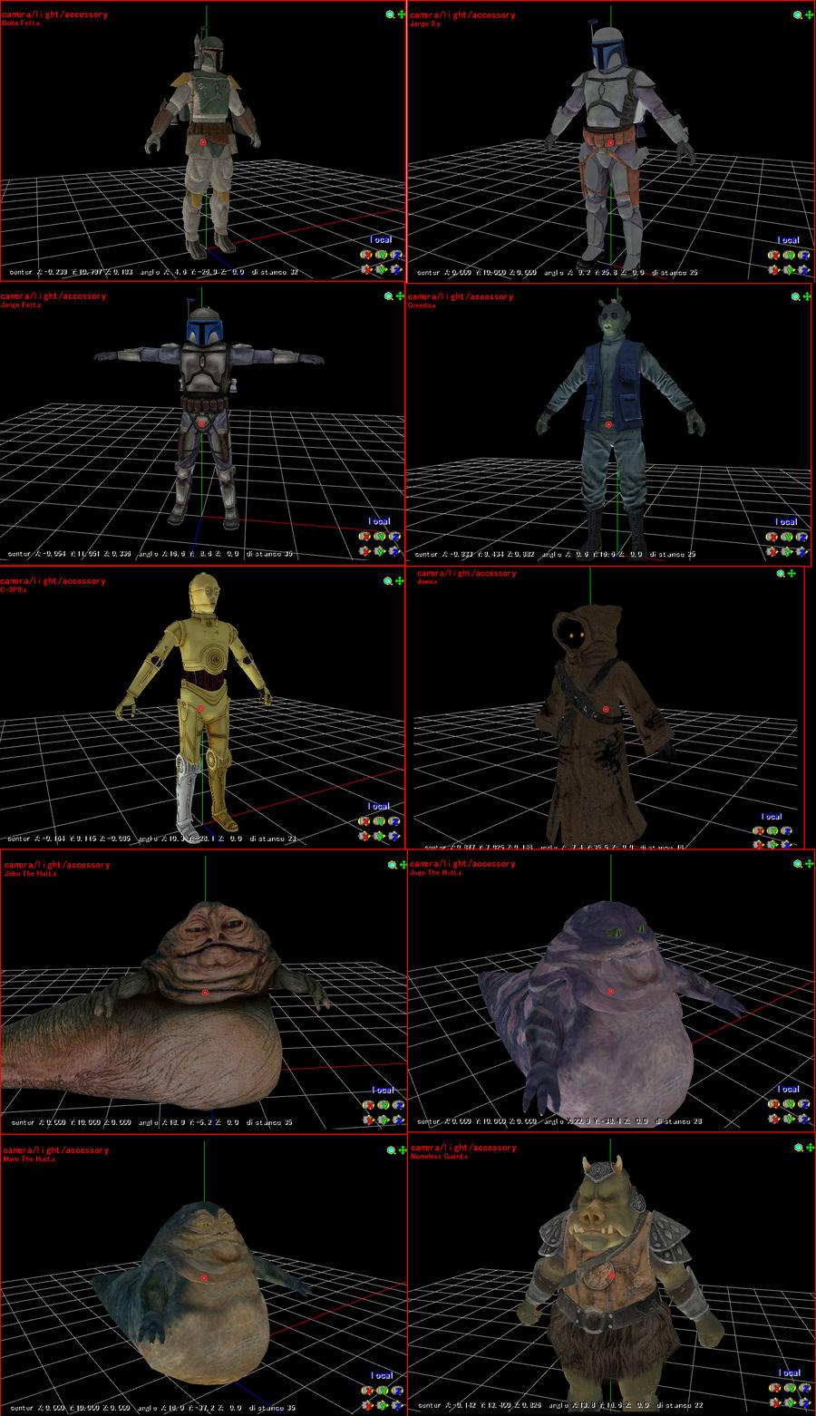 MMD Star Wars Pack + DL