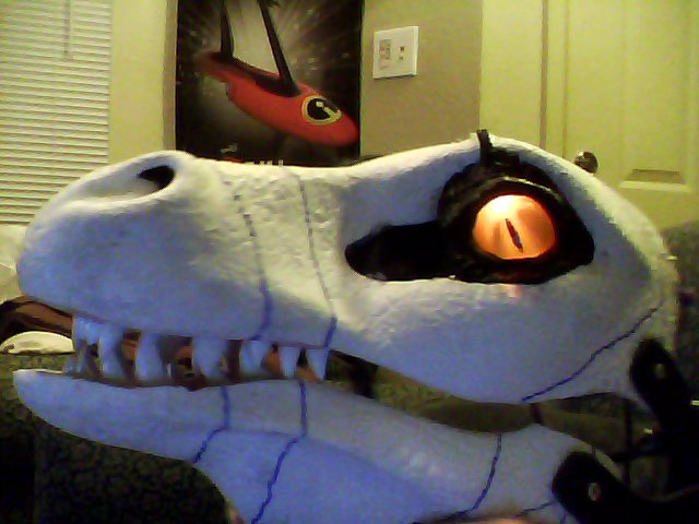 I built a Chaos Effect Alpha Raptor suit. Raptor_cosplay_kaz2y5_by_valforwing-d8fo5yh