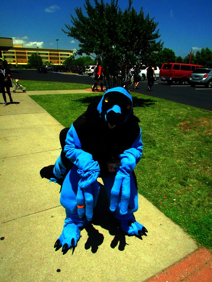 I built a Chaos Effect Alpha Raptor suit. Alpha_raptor_fursuit_by_valforwing-da5rq64