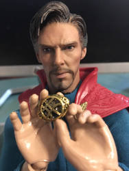 Doctor Strange figure wip