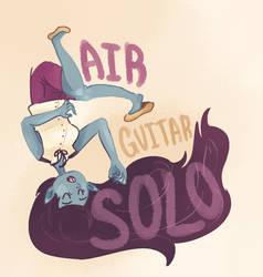 Air Guitar Solo by BaronBamboozle