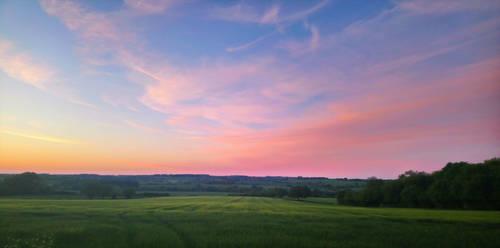 English Countryside (landscape) by KatiesPetPawtraits