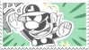 BAM! Mr.L Stamp by Nin-niku