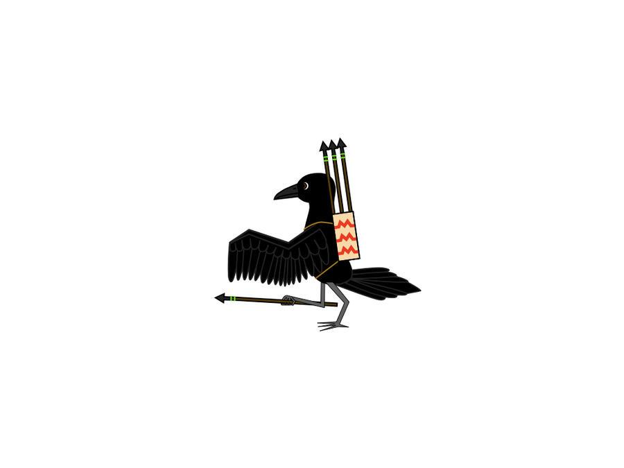 Corvus Sapien by platypus12