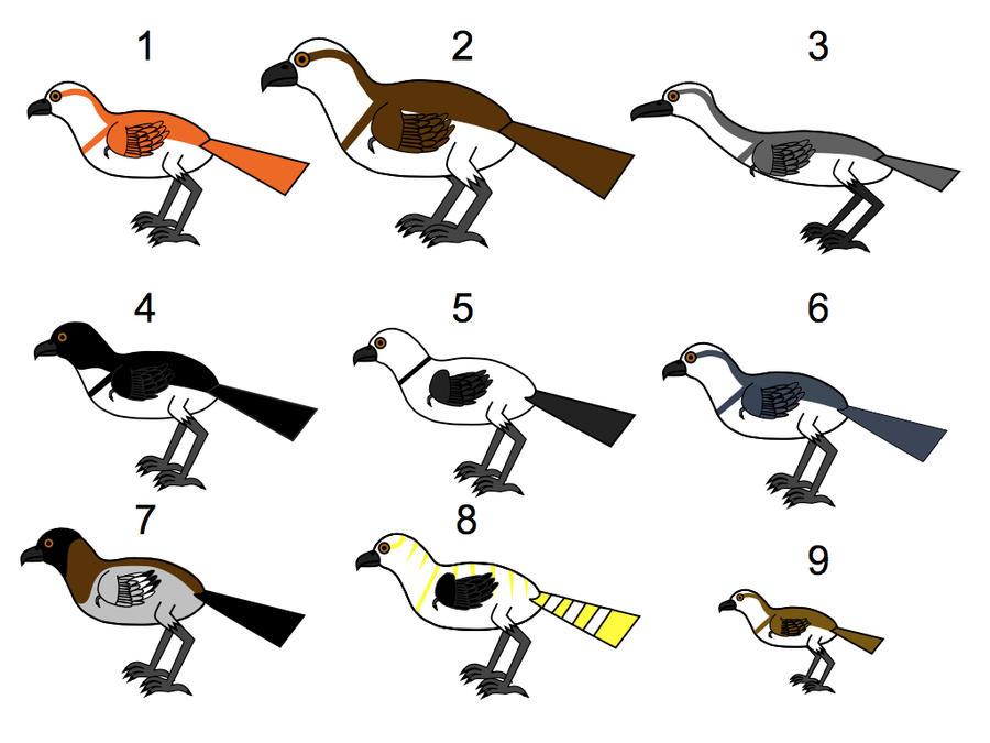 Osprey Hound Breeds part 1 by platypus12