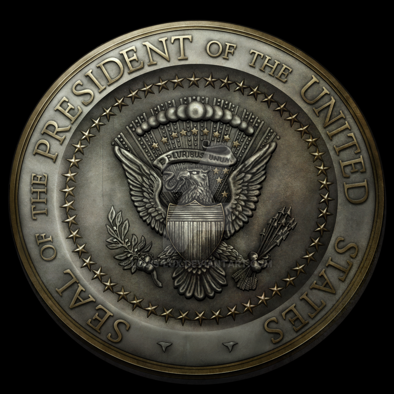 Seal Of The President Of The United States By Louis Lux On Deviantart