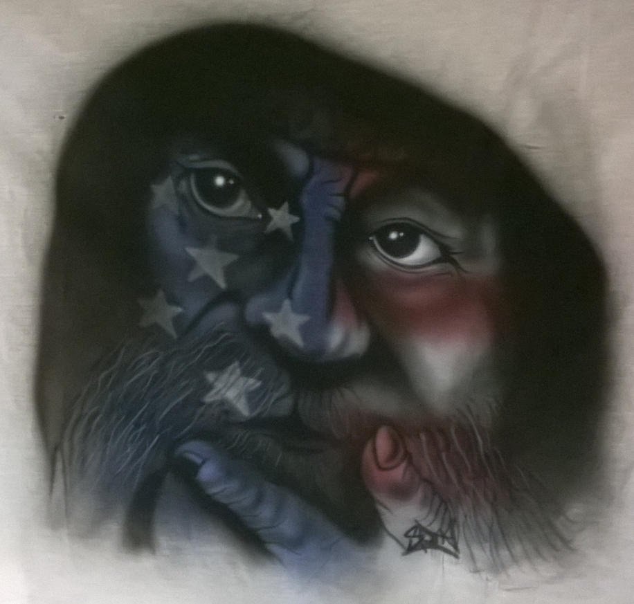 Homeless Veteran by Spinathme