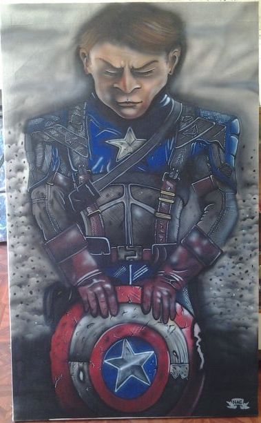 Captain America by Spinathme