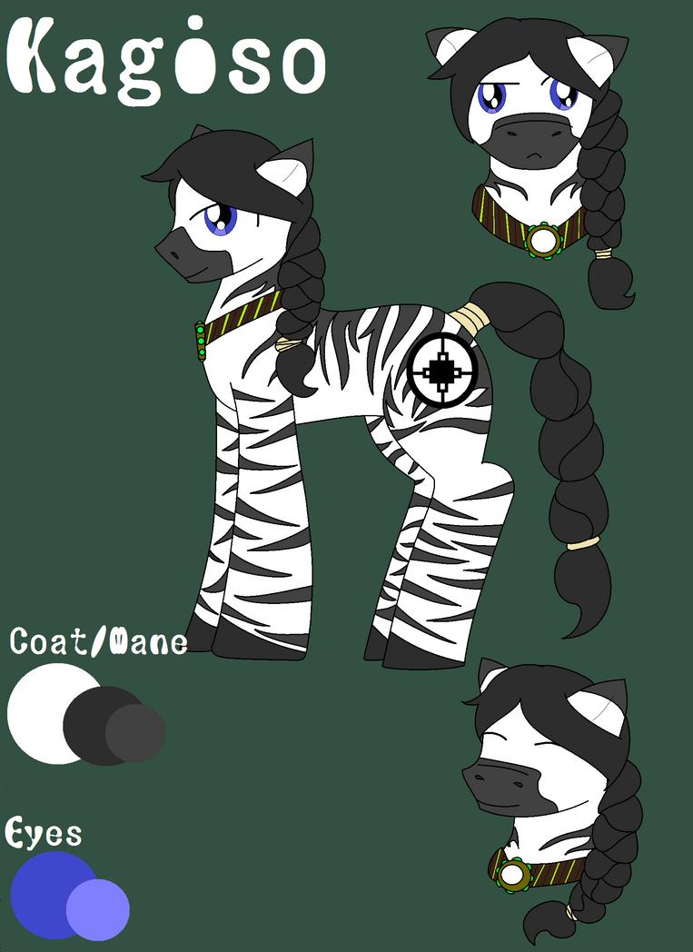 Kagiso (MLP OC) by CatGirlSLP
