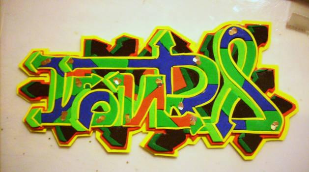 Graffiti Kontra Goma Eva 6