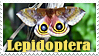 Stamp - Lepidoptera by J-Y-M