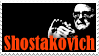 Stamp - Shostakovich by J-Y-M