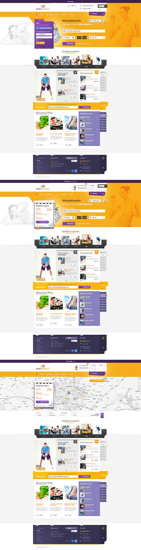 Sport booker by venom1209