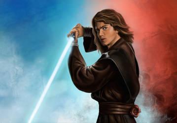 Star Wars, Anakin Skywalker by Koralina28