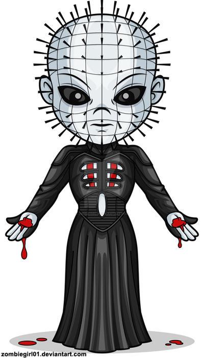 Chibi Pinhead by ZombieGirl01