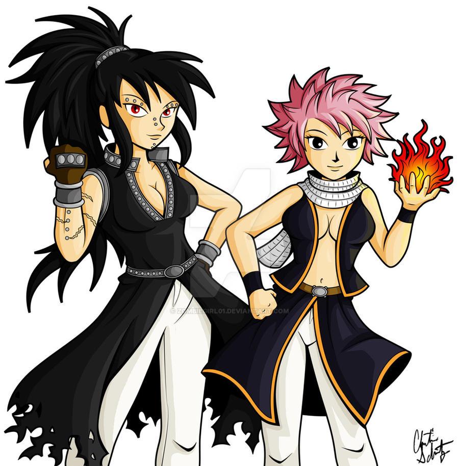 Gender Bent Dragon Slayers By Zombiegirl01