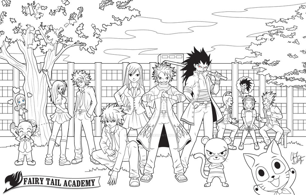 Fairy Tail Academy FINAL by ZombieGirl01 on DeviantArt
