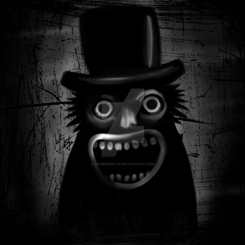 Mister Babadook by ZombieGirl01 on DeviantArt
