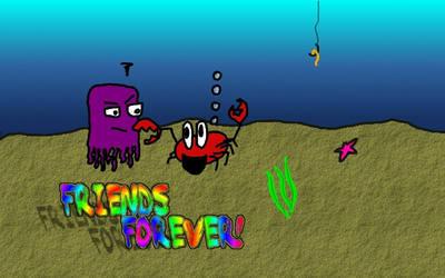 Underwater doodle