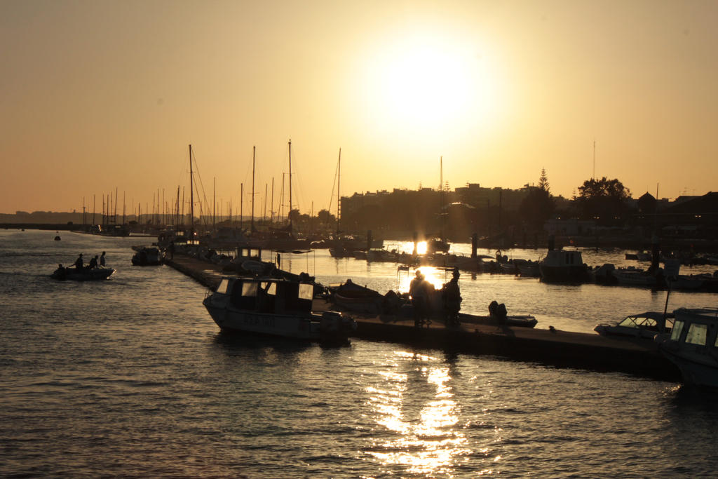 Sunset on Olhao by CrAz86