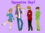 Eddsworld au: opposite day