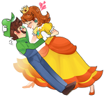 Luigi x Daisy