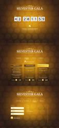 Silvester Gala by artistandarchitects