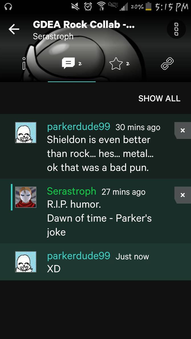I killed humor