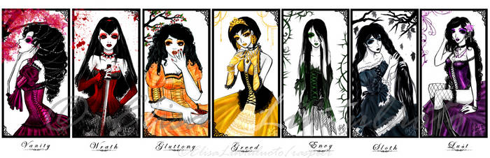 7 Deadly Sins by raspber