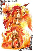 Elements - Fire by raspber
