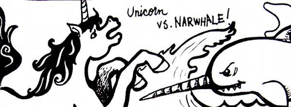 unicorn vs. narwhale