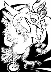 bird with ginko