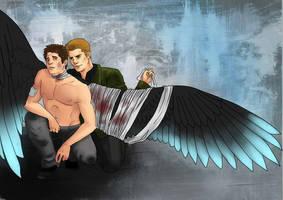 Dean Winchester, Angel Doctor by Turtletamer42