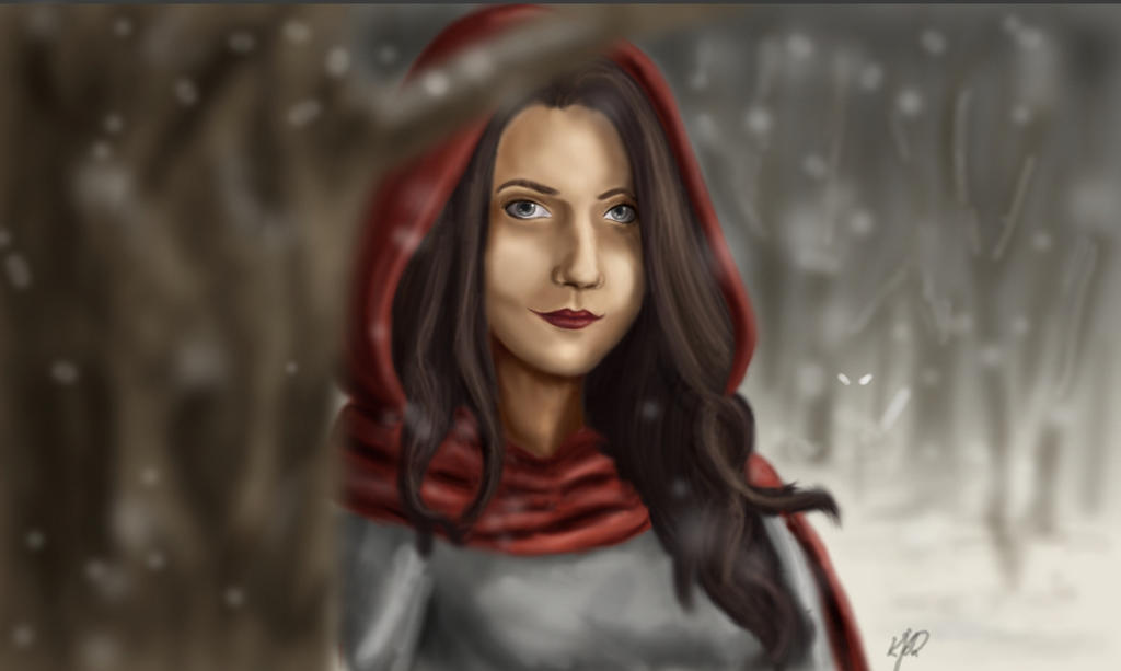 Little Red Riding Hood by Bella-Anima