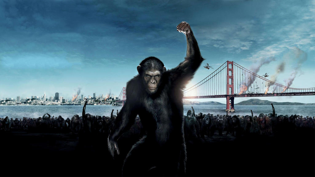 Planet Of The Apes Wallpaper: Rise Of The Planet Of The Apes [Wallpaper] By