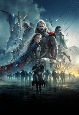 Thor: The Dark World [Hi-Res Textless Poster]