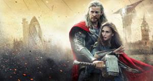 Thor: The Dark World [Hi-Res Textless Banner]
