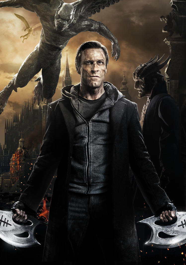 i, frankenstein [hi-res textless poster]phetvanburton on deviantart