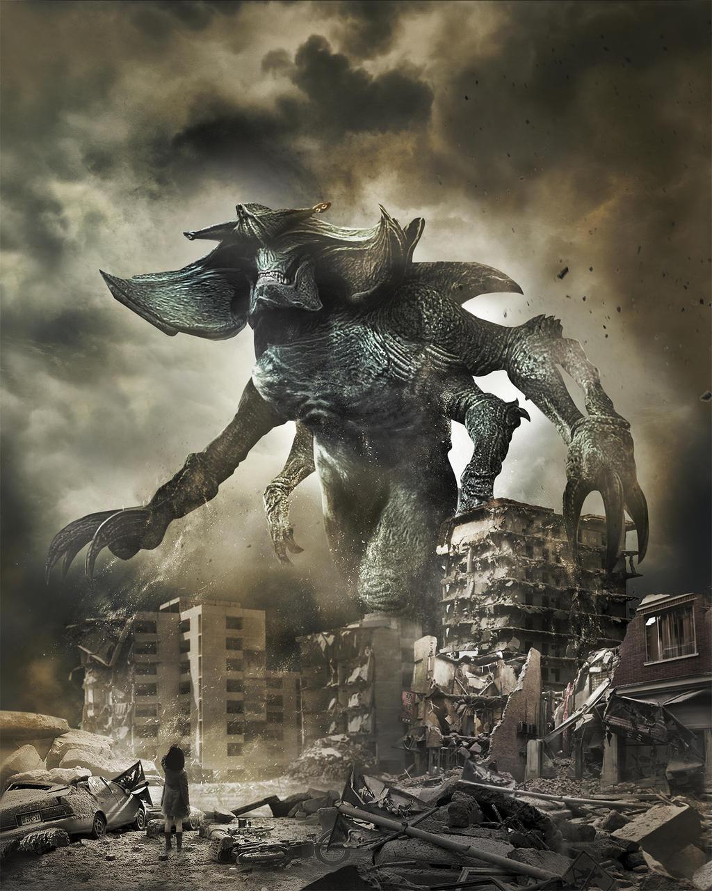 Pacific Rim Kaiju Poster Pacific Rim [Hi-Res Te...