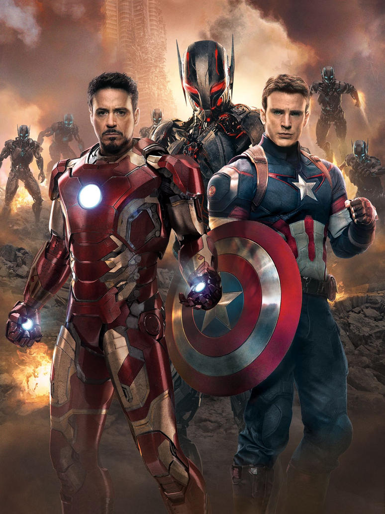 Avengers: Age Of Ultron [Hi-Res Textless Poster] by ...